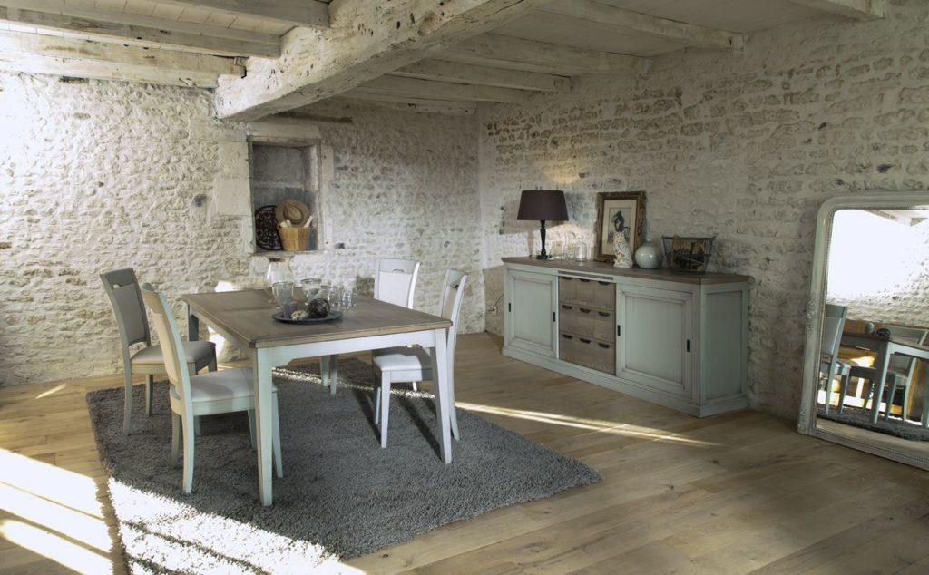 Enfilade et table Berangere Couture - Meubles du Vieux Moulin