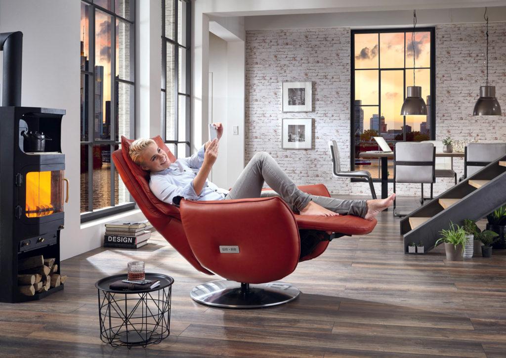 Hukla fauteuil - Meubles du Vieux Moulin