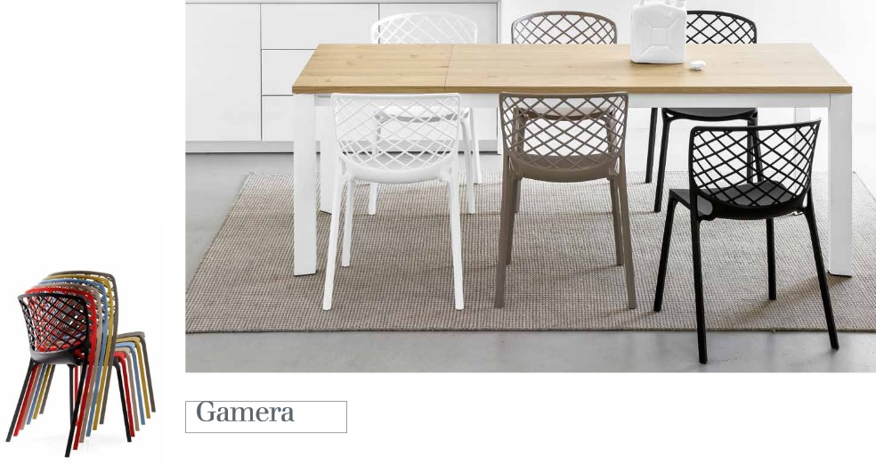 Table et chaises Calligaris