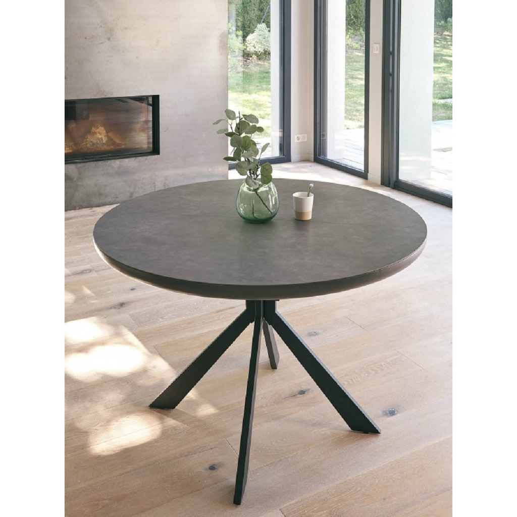 Table ronde full céramique girardeau