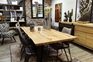 Déco vintage avec table