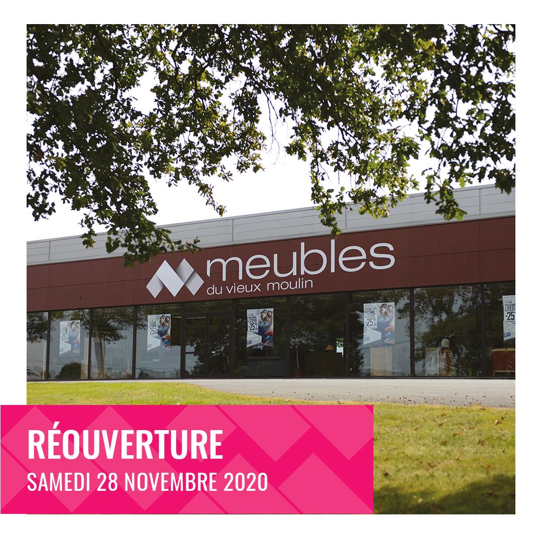 Bonne nouvelle ! Le magasin des Meubles du Vieux Moulin, situé entre Bressuire et les Herbiers, ouvre de nouveau ses portes !